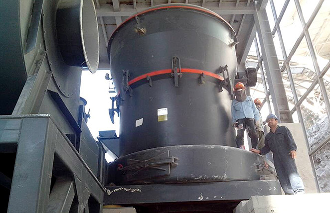 40tph MTW215 Grinding Plant for dolomite processing in Thailand