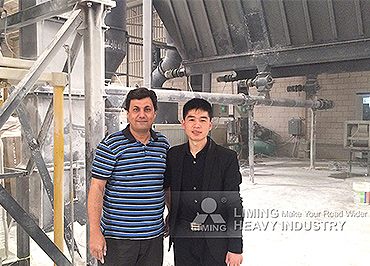 Limestone and calcite super fine grinding machine MW 125 used in Saudi Arabia