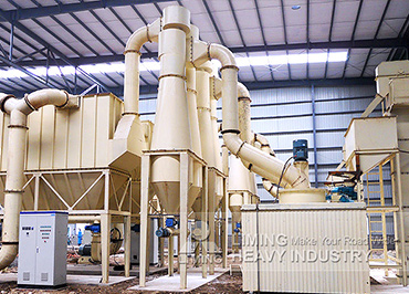 Calcite MW Series Micro Powder Mill in Myanmar