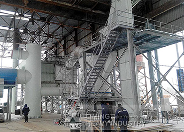 50-60tph LM190 Grinding Plant for limestone in Russia