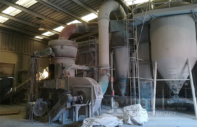 3tph YGM130 Grinding Plant for bauxite processing in Spain