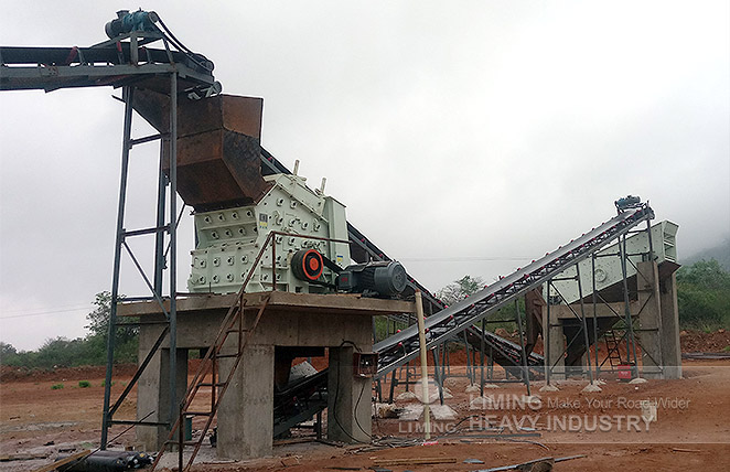 120tph granite stone crushing line in Zimbabwe