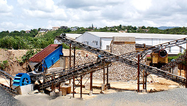 250TPH Línea de Producción Arena de Piedra del Río en Jamaica