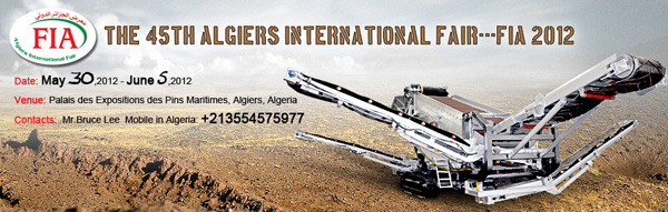 The 45th Algiers International Fair---FIA 2012