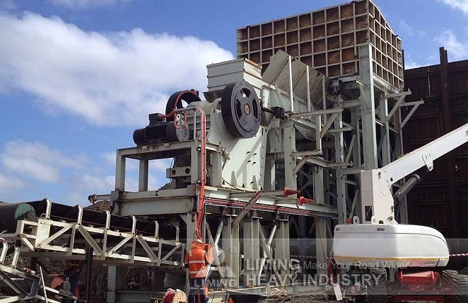 Crawler Type Mobile Crushing Plant