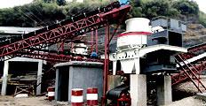 200Т/Ч дробильная установка для гранита в Южной Африке