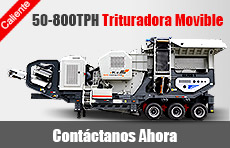 50-800TPH Trituradora Movible