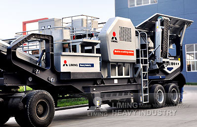 MOBILE PRIMARY JAW CRUSHER image