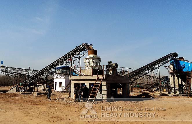 Stone Crushing Plant in Dushanbe,Tajikistan