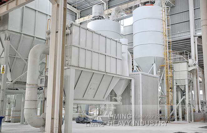 LIMESTONE GRINDING PLANT IN COLOMBIA
