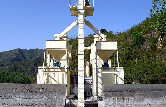 Micro powder mill for gypsum power plants desulfurization in Ukraine