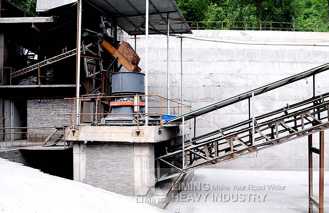 River stone sand production line in Pakistan