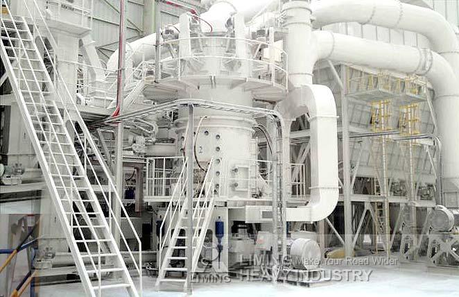 Large capacity superfine limestone grinding plant in Spain