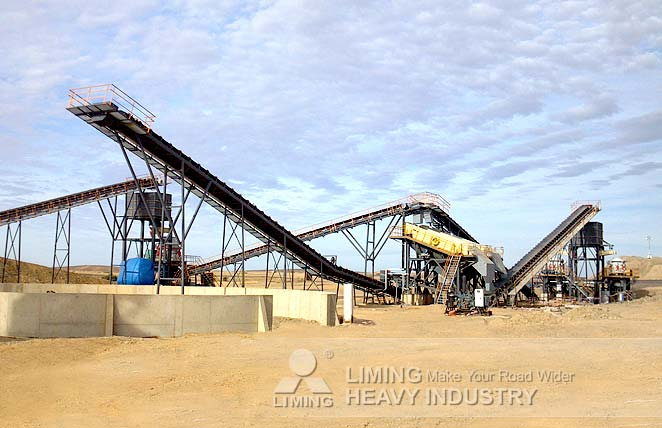 HPT cone crusher for pebbles crushing plant in Spain
