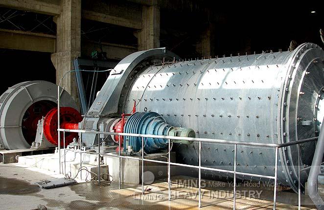 Broyeur à boulets pour l'enrichissement du minerai de fer en Inde