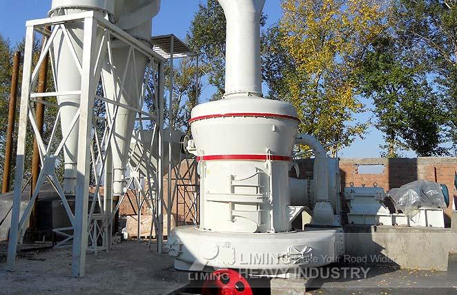 Ligne de production du broyage de gypse de 10 TPH en Iran