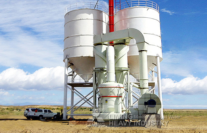 Gypsum Grinding Mill MTW175 in Iran