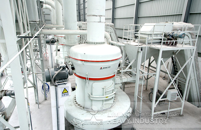 Limestone MTW175 Grinding Plant in Luoyang,China