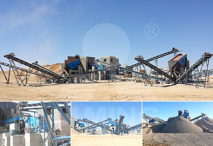 Complete Limestone Crushing and Screening Plant in Salalah, Oman