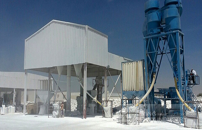 MTW175 and MW125 Grinding plant in Saudi Arabia