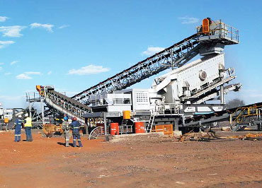 200-250 MTPH Manganese Mobile Crushing & Screening Project in Johannesburg, South Africa