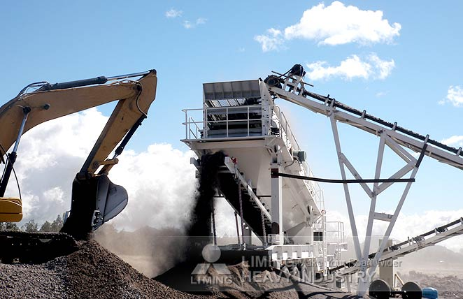 River stone mobile crusher plant case in Almaty, Kazakhstan