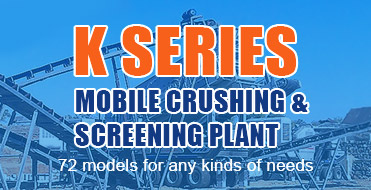 K Series Mobile Crushing & Screening Plant is of more reliable performance stability-Liming Heavy Ind