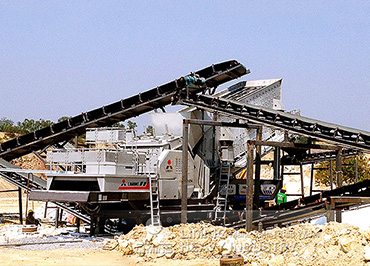 300TPH Mobile Gypsum Crushing Plant in Thailand