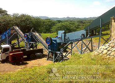 40-60TPH Basalt Crushing and Screening Plant in Salvador