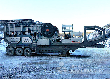 Mobile Crushing Plant for Processing Limestone in Krasnoyarsk, Russia