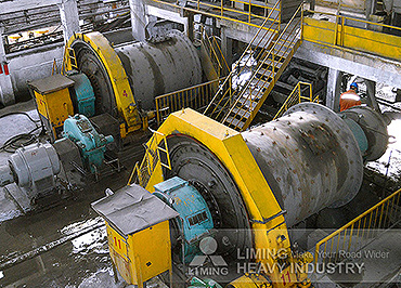 The Gold Ore Crushing Line In S