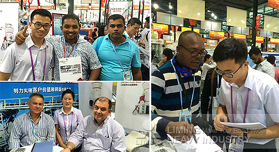 Liming Heavy Industry is participating in the 118th Canton Fair