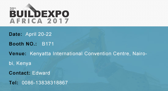 Liming Heavy Industry will participate in the 20th Buildexpo Africa (Kenya) 2017