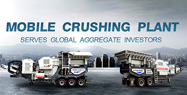 Mobile crushing plant serves global aggregate investors