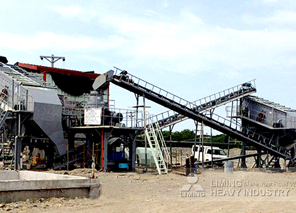 120tph river rock crushing line in La Union, Philippines