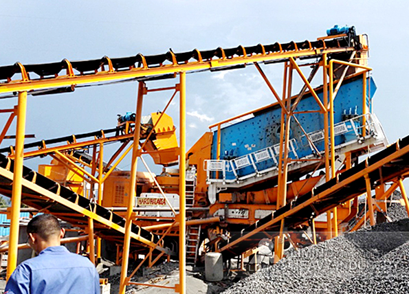 350tph volcano rock mobile crushing line in Legaspi, Philippines