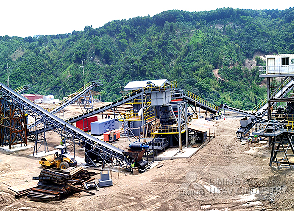 500tph basalt crushing line in Montalban, Philippines