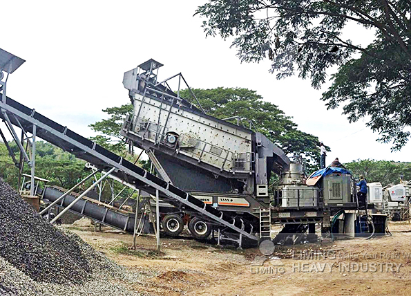 100tph river rock crushing line in Subic, Philippines