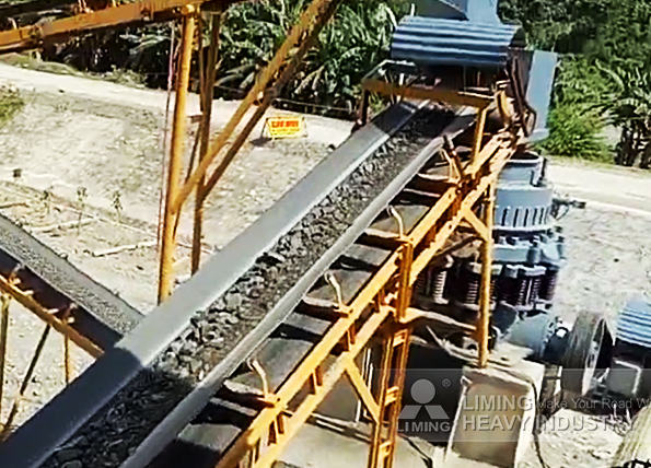 150tph river rock crushing line in Iligan, Philippines