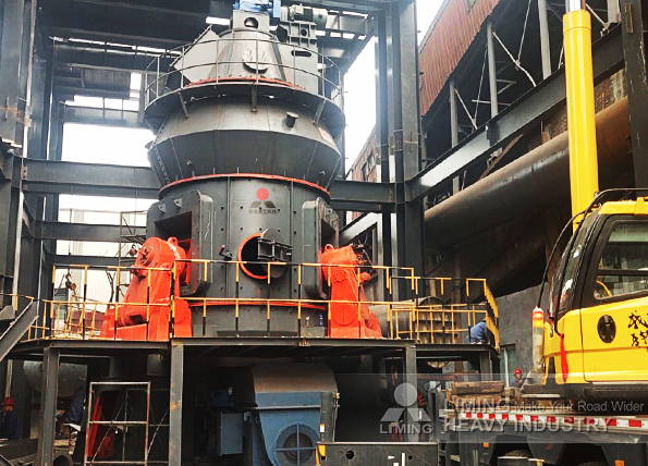 60tph coal powder grinding line in Henan , China