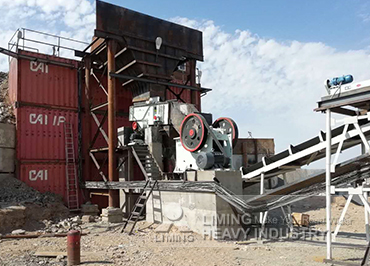 120tph gold ore crushing line in Kazakhstan