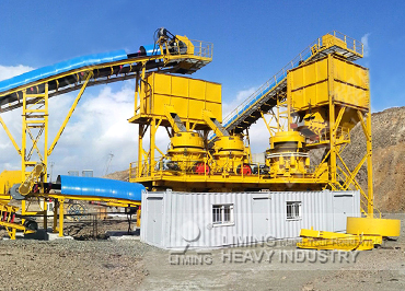 500tph iron ore crushing and dry separation process in Mongolia