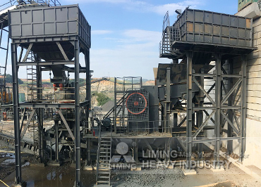 120tph tungsten ore production line in Vietnam