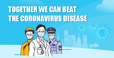 Together we can beat the Coronavirus Disease Be Prepared And Be Confident