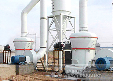 10TPH gypsum grinding production line in Iran