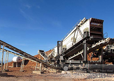 30TPH Granite Mobile Crushing P