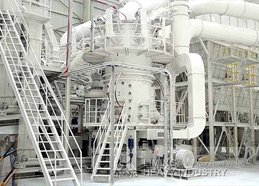 Large capacity superfine limestone grinding plant in Spain