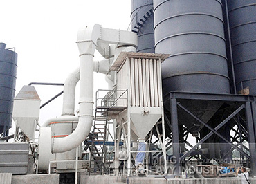 22tph limestone grinding mill MTW175 in South Africa