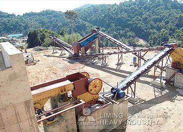 Gold ore crushing plant in Malaysia
