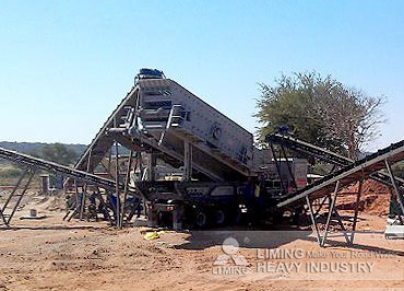 Mobile jaw crusher customer's